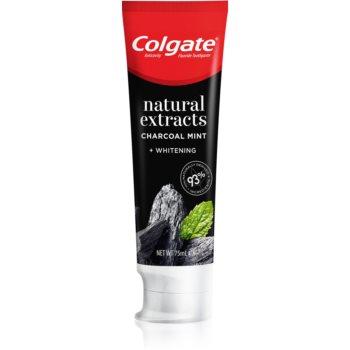 Colgate Natural Extracts Charcoal + White Pasta de dinti albire cu cărbune activ imagine 2021 notino.ro