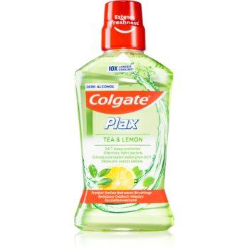 Colgate Plax Tea & Lemon apa de gura antiplaca imagine 2021 notino.ro