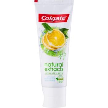 Colgate Natural Extracts Ultimate Fresh pastă de dinți imagine 2021 notino.ro