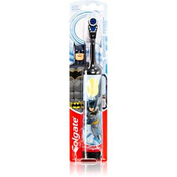 Colgate Kids Batman baterie perie de dinti pentru copii foarte moale notino.ro