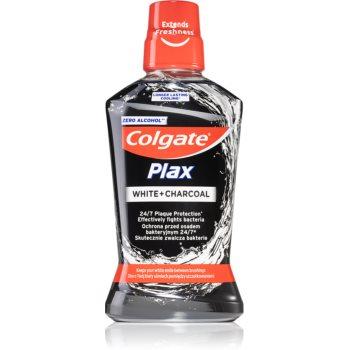 Colgate Plax Charcoal Apa de gura impotriva placii dentare si a gingivitei. fara alcool image0