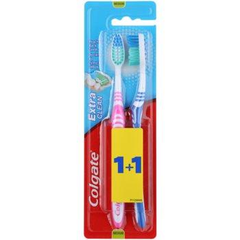 Colgate Extra Clean periuta de dinti Medium 2 pc image0