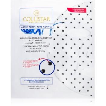 Collistar Pure Actives Micromagnetic Mask Collagen mască micro-magnetică cu colagen imagine 2021 notino.ro