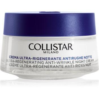 Collistar Special Anti-Age Ultra-Regenerating Anti-Wrinkle Night Cream crema de noapte pentru contur pentru ten matur imagine 2021 notino.ro