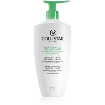 Collistar Special Perfect Body Anticellulite Thermal Cream crema de corp pentru fermitatea pielii anti-celulită imagine 2021 notino.ro