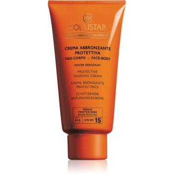 Collistar Special Perfect Tan Protective Tanning Cream crema pentru protectie solara SPF 15 imagine 2021 notino.ro