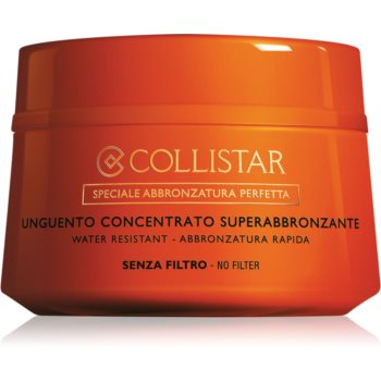 Collistar Supertanning Concentrated Unguent unguent concentrat fara factor de protectie notino poza