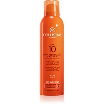 Collistar Special Perfect Tan Moisturizinig Tanning Spray spray solar SPF 10 notino.ro