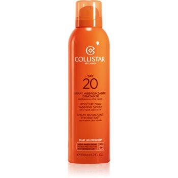 Collistar Special Perfect Tan Moisturizing Tanning Spray spray solar SPF 20 notino.ro