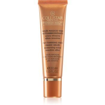 Collistar Tan Without Sunshine Self-Tanning Face Magic Gelée gel autobronzant facial imagine 2021 notino.ro