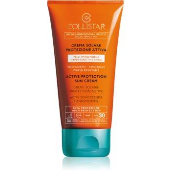 Collistar Special Perfect Tan Active Protection Sun Cream crema pentru protecție solară rezistenta la apa SPF 30 imagine 2021 notino.ro