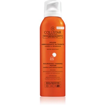 Collistar Special Perfect Tan Nourishing Tanning Mousse Spuma pentru fata si corp SPF 20 imagine 2021 notino.ro