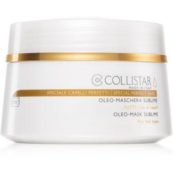 Collistar Special Perfect Hair Oleo-Mask Sublime mască din ulei pentru toate tipurile de păr imagine 2021 notino.ro