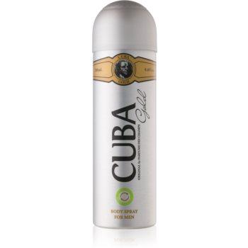 Cuba Gold spray pentru corp pentru bărbați