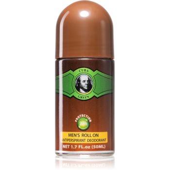 Cuba Green Deodorant roll-on pentru bărbați