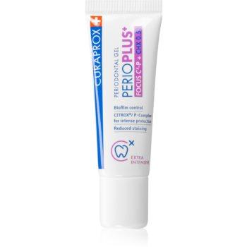 Curaprox Perio Plus+ Focus 0.50 CHX gel dentar imagine 2021 notino.ro