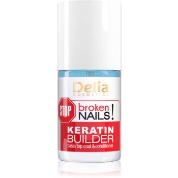 Delia Cosmetics STOP broken nails! tratament cu cheratină pentru regenerarea unghiilor slăbite imagine 2021 notino.ro