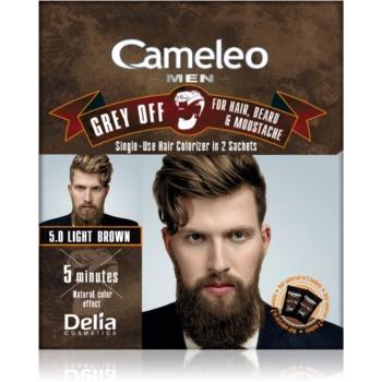 Delia Cosmetics Cameleo Men culoare de unică folosință, pentru acoperirea imediată a părului cărunt imagine 2021 notino.ro