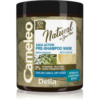 Delia Cosmetics Cameleo Natural tratament pre-sampon pentru par uscat notino.ro
