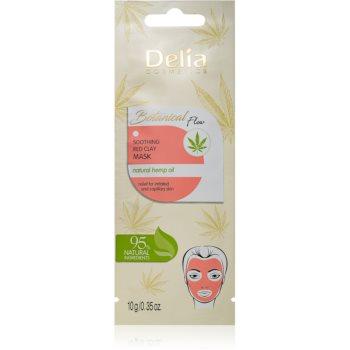 Delia Cosmetics Botanical Flow Hemp Oil masca calmanta pentru fata pentru piele sensibila si iritabila imagine 2021 notino.ro