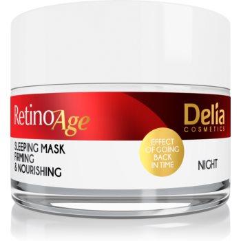 Delia Cosmetics Retino Age mască hrănitoare și tonifiantă pentru noapte imagine 2021 notino.ro