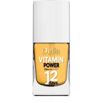 Delia Cosmetics Vitamin Power 12 Days balsam pentru unghii cu vitamine imagine 2021 notino.ro