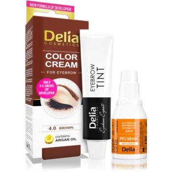 Delia Cosmetics Argan Oil culoare pentru sprancene imagine 2021 notino.ro