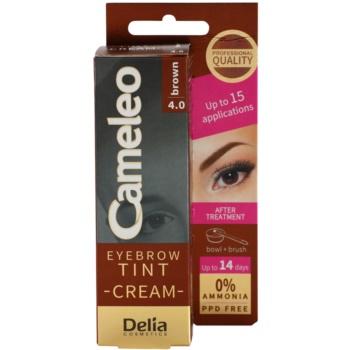Delia Cosmetics Cameleo Vopsea crema profesionala pentru sprancene fără amoniac imagine 2021 notino.ro