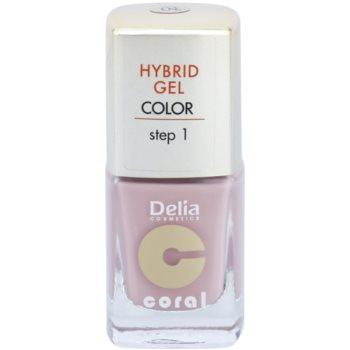 Delia Cosmetics Coral Nail Enamel Hybrid Gel lac de unghii sub forma de gel imagine 2021 notino.ro