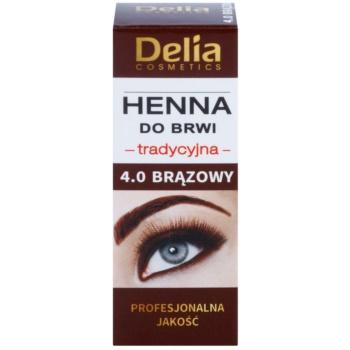 Delia Cosmetics Henna culoare pentru sprancene imagine 2021 notino.ro