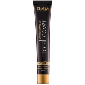 Delia Cosmetics Total Cover machiaj rezistent la apa SPF 20 notino.ro