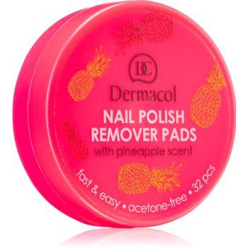 Dermacol Nail Polish Remover Pads Acetona fara miros imagine 2021 notino.ro