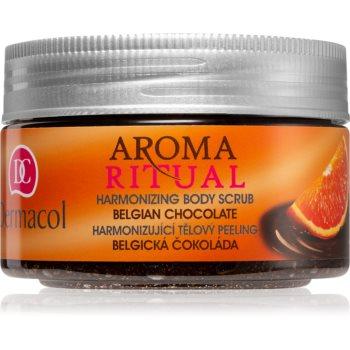 Dermacol Aroma Ritual Belgian Chocolate exfoliant pentru corp imagine 2021 notino.ro