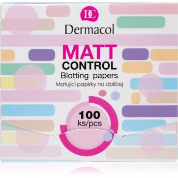 Dermacol Matt Control foițe cu efect matifiant imagine 2021 notino.ro