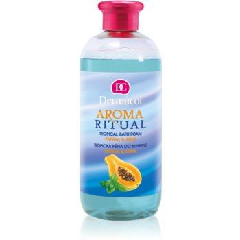 Dermacol Aroma Ritual Papaya & Mint spuma de baie imagine 2021 notino.ro