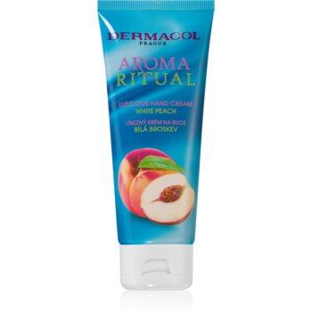 Dermacol Aroma Ritual White Peach crema de maini imagine 2021 notino.ro