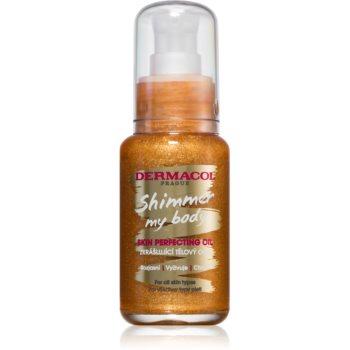 Dermacol Shimmer My Body Ulei de corp catifelat cu particule stralucitoare imagine 2021 notino.ro