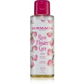 Dermacol Flower Care Rose ulei hrănitor de lux pentru corp imagine 2021 notino.ro