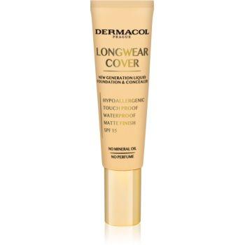 Dermacol Longwear Cover make-up fluid SPF 15 imagine 2021 notino.ro