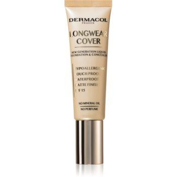 Dermacol Longwear Cover make-up fluid SPF 15 notino.ro