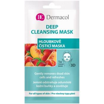 Dermacol Deep Cleasing Mask mască pentru curățare profundă 3D imagine 2021 notino.ro