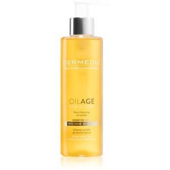 Dermedic Oilage Anti-Ageing ulei pentru spălarea feței, cu detergent sintetic imagine 2021 notino.ro