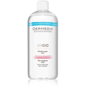 Dermedic Angio Preventi apă micelară calmantă pentru pielea predispusă la roseata notino.ro