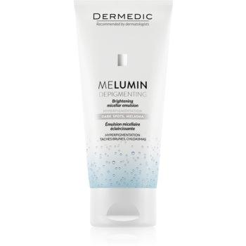 Dermedic Melumin emulsie micelara pentru curatare pentru piele cu hiperpigmentare imagine 2021 notino.ro