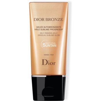 Dior Dior Bronze Self Tanning Jelly Gradual Sublime Glow gel autobronzant facial notino.ro