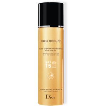 Dior Dior Bronze Oil in Mist ulei cu protectie solara pentru piele si par Spray notino poza