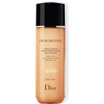 Dior Dior Bronze Self-Tanning Liquid Sun apa de auto-bronzare pentru corp notino poza
