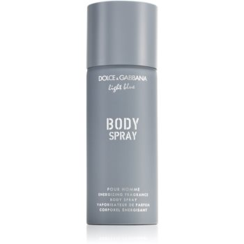 Dolce & Gabbana Light Blue Pour Homme spray de corp energizant pentru bărbați