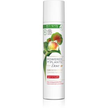 Dove Powered by Plants Geranium deodorant spray revigorant imagine 2021 notino.ro