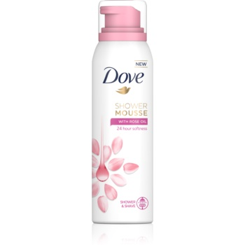 Dove Rose Oil spumă pentru duș 3 in 1 imagine 2021 notino.ro